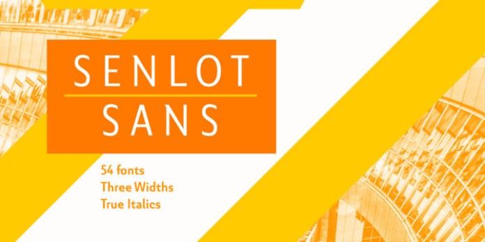 Senlot Sans Font Family