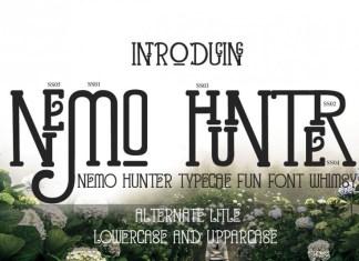 Nemo Hunter Other Font