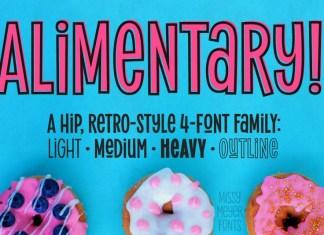 Alimentary Font