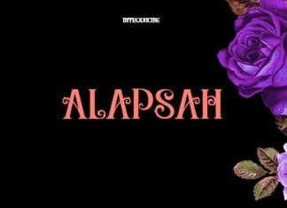 Alapsah Font