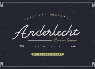 Anderlecht Font