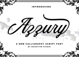 Azzury Font