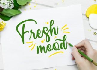 Fresh Mood Font