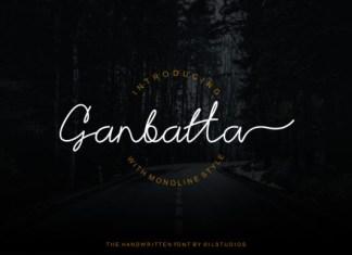Ganbatta Font