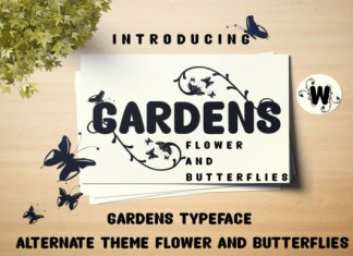 Gardens Font