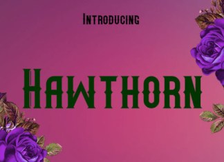 Hawthorn Font