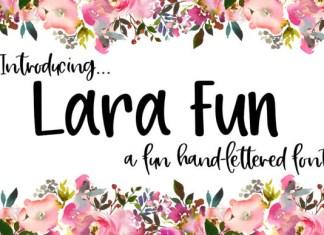 Lara Fun Font