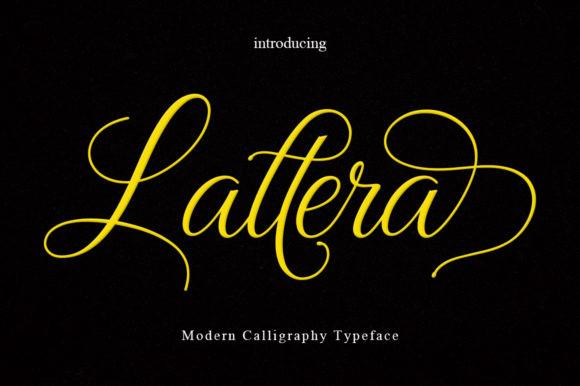 Lattera Font