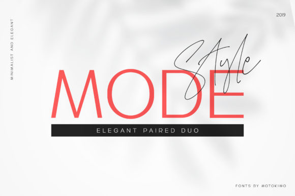 Mode Style Duo Font