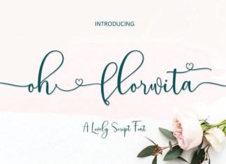 Oh Florwita Font