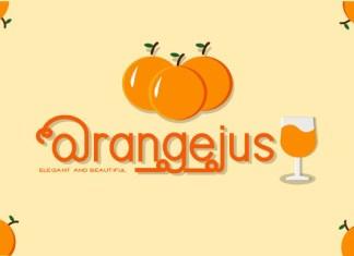 Orangejus Font