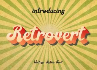 Retrovert Font