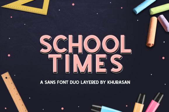 School Times Font
