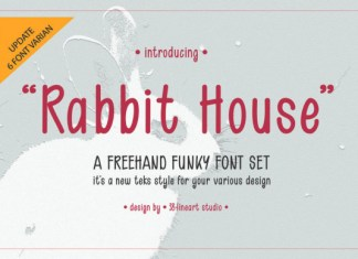 Rabbit House Font