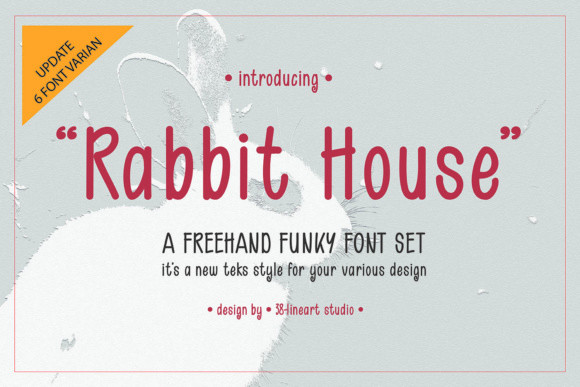 Rabbit House Font