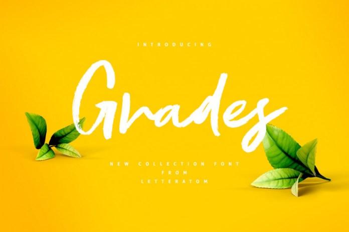 Grades Other Font