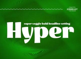 Hyper - Super Bold Headline Font