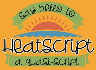 ZP Heatscript Font