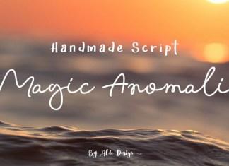 Magic Anomali Script Font