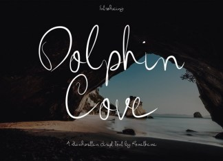 Dolphin Cove Font