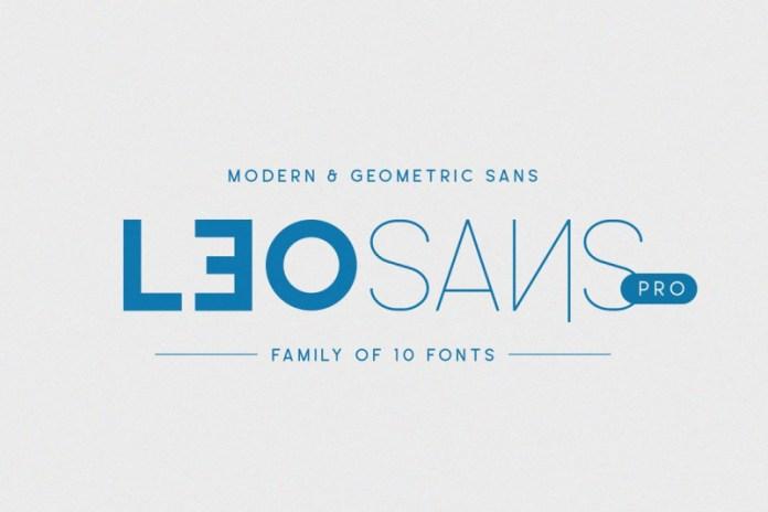 Leo Sans Font