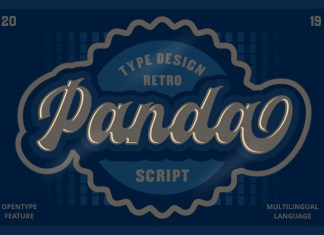 Panda Script Font