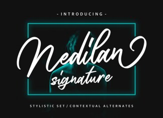 Nedilan - Signature Font