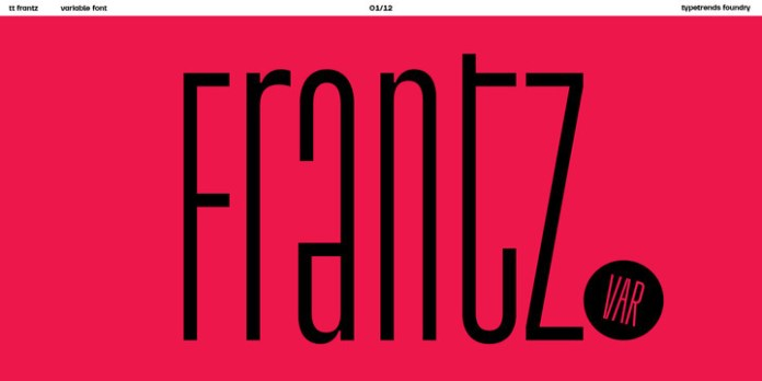 TT Frantz Font Family