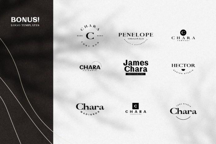 Chara - Sans Serif & Serif Duo Font