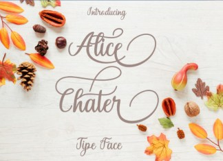 Alice Chater Font