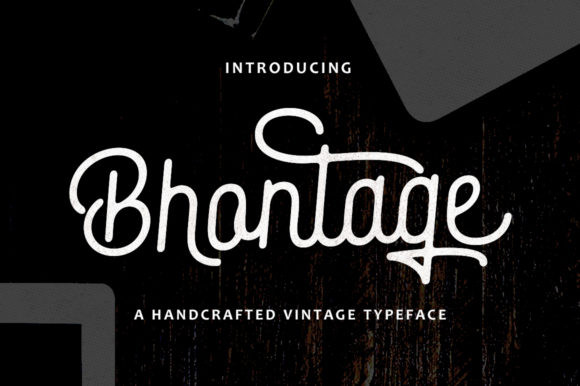 Bhontage Font