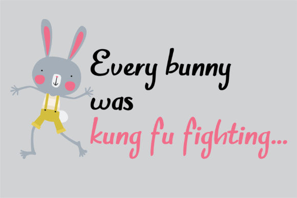 Bunny Honk Font