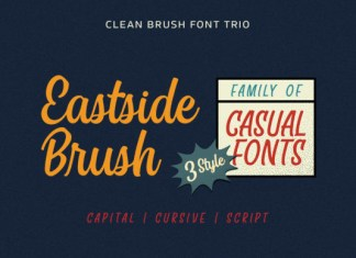 East Side Brush Font