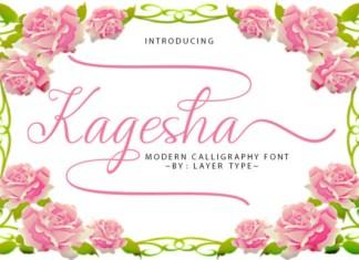 Kagesha Font