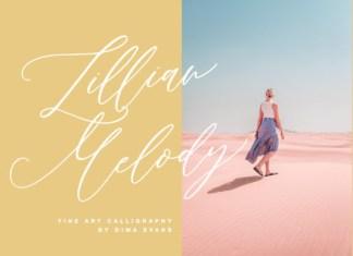 Lillian Melody Font