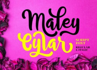 Maley Cylar Font