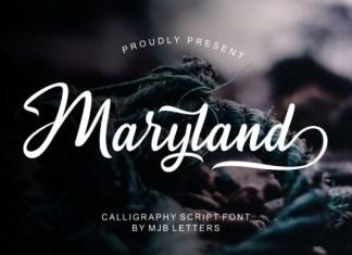 Maryland Font