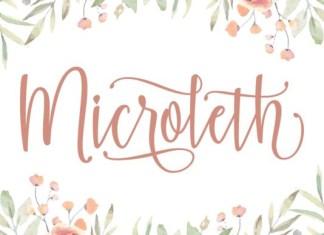 Microleth Font