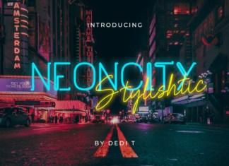 Neoncity Font