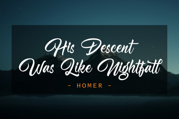 Nightfall Font