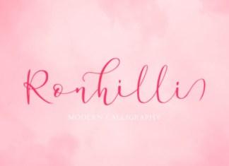 Ronhilli Font