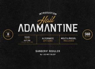 Adamantine Font