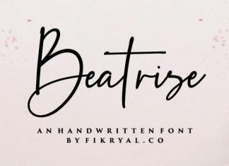 Beatrise Font