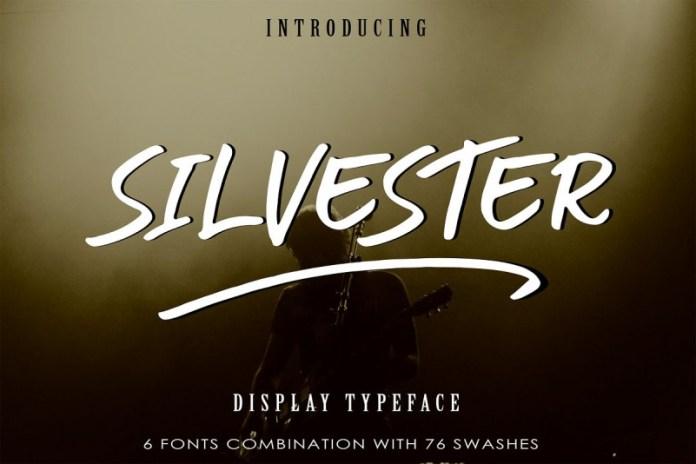 SILVESTER | 6 FONT BRUSH PEN