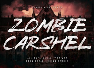 Zombie Carshel Font