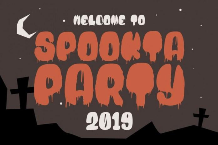 Blood Bold Fun Halloween Two Fonts