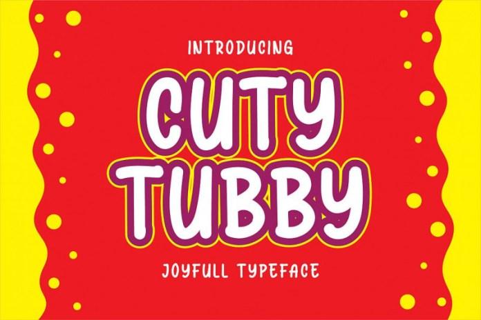 Cuty Tubby Font