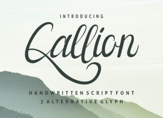 Callion Font