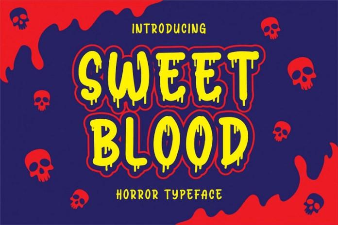 Sweet Blood Font