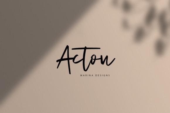 Acton Font